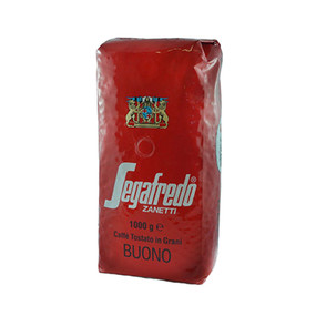 The Segafredo Buono espresso coffee blend gives a strong coffee flavour that is stunning when used in a cappuccino or latte.
