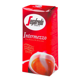 Intermezzo is a unique combination of the best quality Arabica and Robusta coffee beans. Intermezzo is one of the most popular blends in the Segafredo Zanetti range.