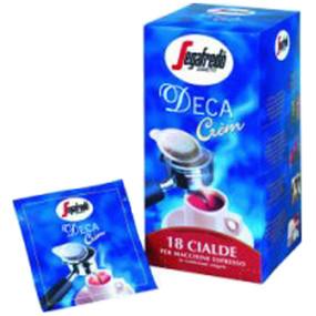 Segafredo Decaf Crem Coffee Pods 50 x 7gram sachets