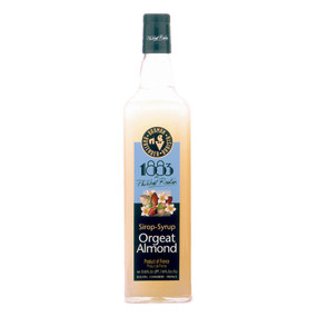 With a deliciously rich orgeat flavour, ROUTIN 1883 ALMOND Syrup can be used in various alcoholic and non-alcoholic drinks.