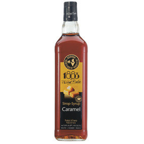 Philibert Routin 1883 Caramel Syrup has the characteristic flavour of traditional caramel, and it's delicious when added to both alcoholic and non-alcoholic beverages.