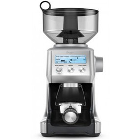 The Smart Grinder uses Dosing IQ technology to ensure a the same dose amount every time you grind.