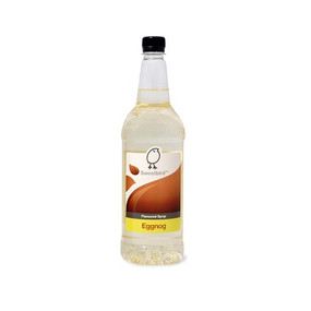 Sweetbird Eggnog Syrup 1 Litre - Adds a creamy nutmeg flavour to your coffee!
