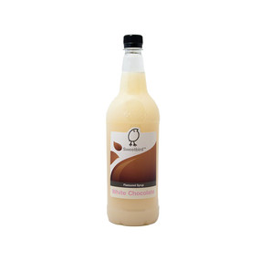 Sweetbird White Chocolate Syrup 1 Litre - A lovely creamy syrup!