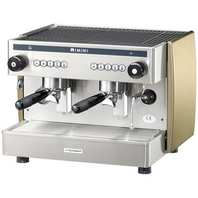 Futurmat Rimini Compact Commercial Coffee Machine occupying just 58 cm / 23 inches of linear counter space this machine was conceived to be compact without compromising on performance.