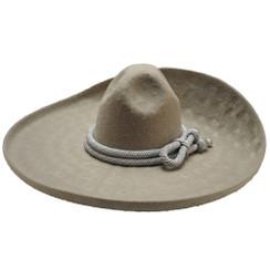 Sombrero Charro - Pelo de Conejo con Calabrote - San Luis Moderado - RR-71132