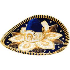 Sombrero Charro Adulto Flor  - AR-O  -  RRIMP-FLOR-AR-O