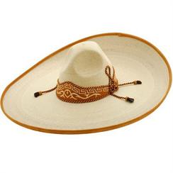 Twinstone Sombrero Charro - Plano Palma Blanca - Cafe - RRTWI-91431