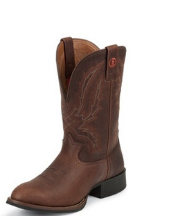 Tony Lama Men Boots - 3R Collection - Brown Pitstop - RR3214