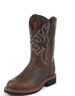 Tony Lama Men Boots - 3R Collection - Auburn Maverick - RR3100