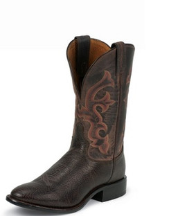 Tony Lama Men Boots - Americana Collection - Java Conquistador Shoulder - RR7940