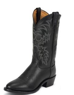 Tony Lama Men Boots - Americana Collection - Black Stallion - RR7921