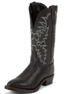 Tony Lama Men Boots - Americana Collection - Black Conquistador Shoulder - RR7952