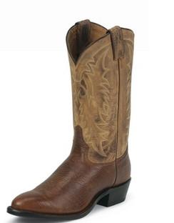 Tony Lama Men Boots - Americana Collection - Cognac Conquistador Shoulder - RR7938