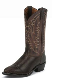 Tony Lama Men Boots - Americana Collection - Java Conquistador Shoulder - RR7937