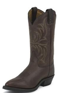 Tony Lama Men Boots - Americana Collection - Brown Kodiak - RR7913