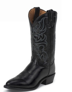 Tony Lama Men Boots - Americana Collection - Black El Paso - RR7926