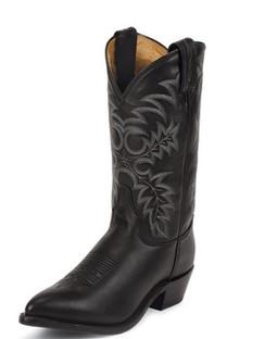 Tony Lama Men Boots - Americana Collection - Black Stallion - RR7920