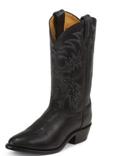 Tony Lama Men Boots - Americana Collection - Black Stallion - RR7900