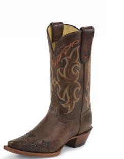 Tony Lama Women Boots - 100% Vaquero - Clay Santa Fe - RR-VF6005