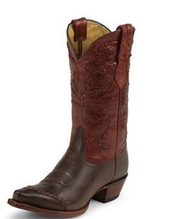 Tony Lama Women Boots - 100% Vaquero - Moka Sienna - RR-VF3021