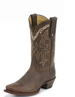 Tony Lama Women Boots - 100% Vaquero - Sorrel Taos - RR-VF6007