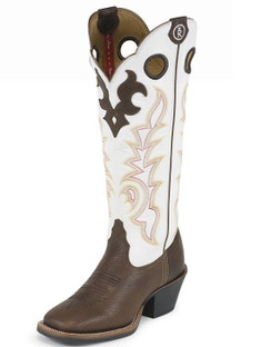Tony Lama Women Boots - 3R Collection - Beige Mustang - RR2007L