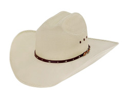 Larry Mahan - Straw Hat -10X - Silverado Tan