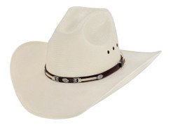 Larry Mahan - Straw Hat -10X - McCoy