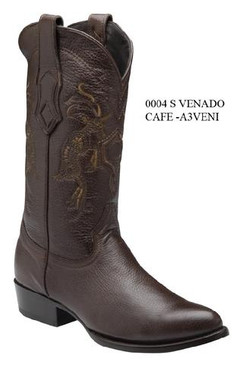 Cuadra Boots - Deer Leather - Semi Oval - Brown - RRA3VENIBW