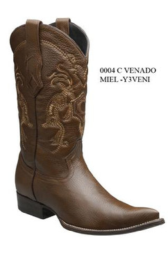Cuadra Boots - Deer Leather - Chihuahua - Honey - RRY3VENIHNY