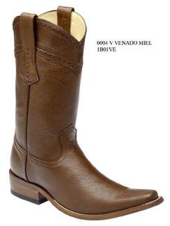 Cuadra Boots - Deer Leather - Versace Toe - Honey - RR1B01VEHNY