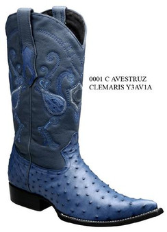 Cuadra Boots - Full Quill Ostrich - Chihuahua Toe - Clemaris