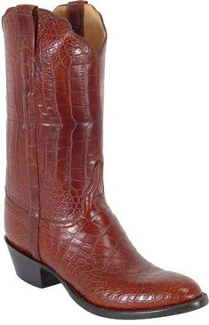 Lucchese Classics - American Alligator Garment Belly  Bias Cut - Peanut - RR-L1123