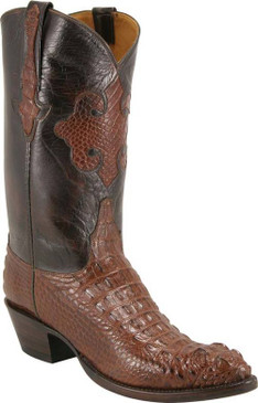 Lucchese Classics - American Alligator Hornback Head Cut - Sport Rust - RR-L1014
