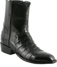 Lucchese Classics - Short Boots - Classic Pony Matador - Ultra Belly Caiman - Black - RR-F5057