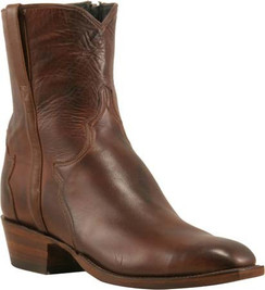 Lucchese Classics - Buffalo Calf - Short Boot - Antique Brown Florence - RRF5053