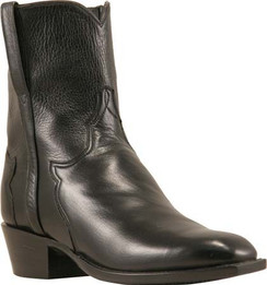 Lucchese Classics - Buffalo Calf - Short Boot - Black Florence - RRF5051