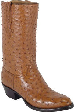 Lucchese Classics - Full Quill Ostrich - Cognac - RR-L1161