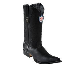 Wild West Boots - Elk - 3x Toe - Black