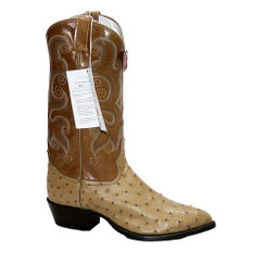 Oryx - Tony Lama Full Quill Ostrich Boot - J-Toe