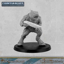 33014 - Counterblast Lancer character, Unagi, Lanceguard
