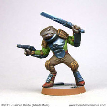 33011 - Counterblast Lancer Brute (Alanti male)