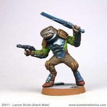 33011 - Counterblast Lancer Brute (Alanti male)