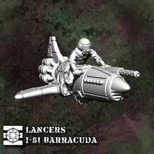 33010 - Lancers Barracuda Rocket Bike