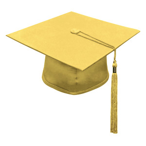 Antique Gold Little Scholar™ Cap & Tassel