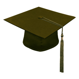 Brown Little Scholar™ Cap & Tassel