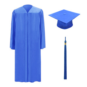 Royal One Way™ Cap, Gown & Tassel