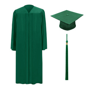 Hunter One Way™ Cap, Gown & Tassel