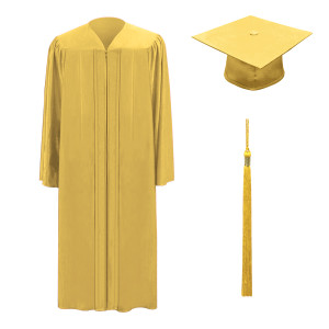 Antique Gold One Way™ Cap, Gown & Tassel